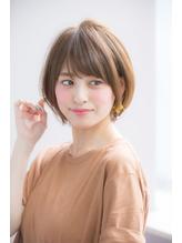 厚めバング小顔斜めバングハニーヘア☆【國武さゆり】 ガーリー.11