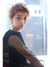 【Dejave】くせ毛風スタイリングのエアリーショート@藤井仁紀.37