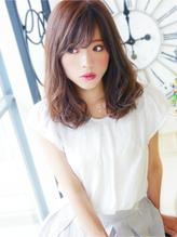 【ヘアジュレドゥ 松田】 クール女子☆可愛い愛されロブセミディ キュート.42