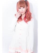 TECHRISE★ドーリィピンクグラデーション×ハーフツインテby角谷 ツインテール.12
