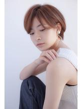 【ハイライトが可愛い☆】横顔美人ショートヘア.18