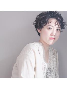 「picto」春髪 リラックスウェーブ @山野理恵