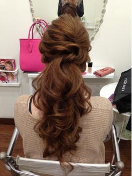 2020年冬】ロング お呼ばれのヘアスタイル・ヘアアレンジ・髪型