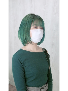 ミントグリーン 韓国風カラー