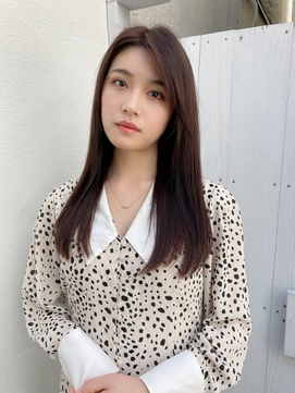 髪質改善・ツヤ美髪ストレートヘア☆