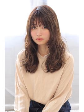 【valentine中井】ベージュブラウン×外国人風パーマ