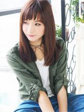 【ジュレベール 杉下】 愛され女子☆清楚なストレートセミディ☆ 清楚.26