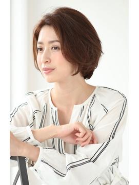【lien.相楽顕】大人かわいいひし形ショートボブ