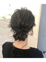 オトナ女子のワンランク上の結婚式のお呼ばれヘアに♪ まとめ髪.43