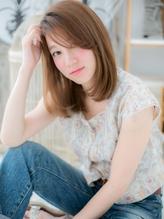 大人かわいい★小顔ナチュラルミディa くびれカール.24