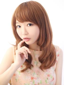 ★ 大人かわいいセミロング ★ 内巻きスタイル ★!【平塚】