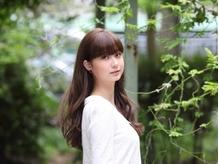 【ハーブグレイカラー¥3218~】気になる白髪もしっかり染まる☆ツヤ感ある上品な仕上がりに…