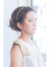 【egerie】(ウエディング・2次回)編み込みカチューシャ♪ カチューシャ.35