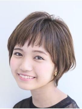 【FIKA 津田沼】大人/ショート/パーマ/前髪あり/白髪染め