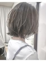 【Marlバッサリイメチェン】ハイライト入りアイスグレージュ .23