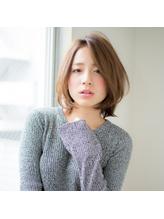ひし形シルエットボブ 大人女子.58