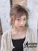 LAGOON ALIVE 新田希望 325 ♪ショートバング × アレンジ♪.10