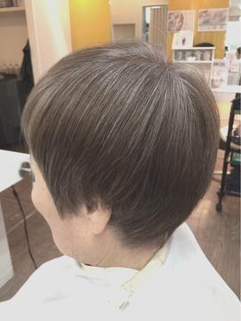 【明るい白髪染め】11LVクリスタルグレージュカラー