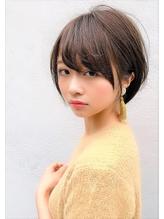 【Lond】津賀雅也 大人可愛い小顔ショートボブ グレージュ.47