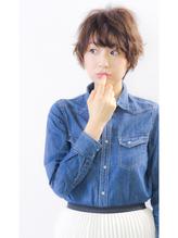 ☆コケティッシュショート☆【hair salon lico】03-5579-9825 好感度.53