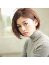 大人女子に人気!!【顔まわりカバー】前下がりショートボブ☆.16