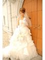 【ドレス】ブライダルドレス編み込みアレンジ