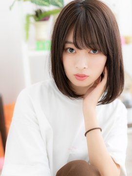 【macaron】ナチュラル☆ストレートボブ