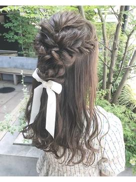 【LAIDBACK 代官山】韓国風グレーアッシュ波巻きヘア
