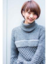 ☆愛されショートボブ☆可愛いワイドバング*くびれミディ ボブ.14