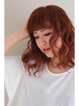 スイートな艶髪カシスベージュブラウン