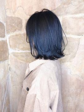 【151e 戸塚】*センシュアルボブ+ネイビーアッシュ*
