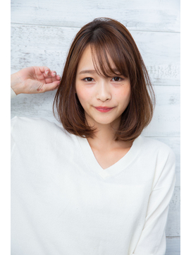 【joemi 新宿】小顔カット 大人 ひし形 シースルー(大島幸司)