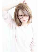 dee 流し前髪×ヌーディベージュ .19