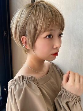 ARIETTAGINZA2 ミルキーベージュ☆耳かけショート