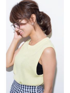 ☆大人めポニー☆【olive for hair】03-6914-0898