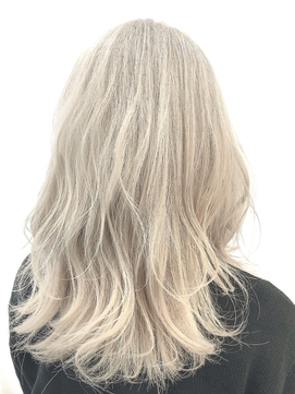 【GUEST_STYLE 】 Blond Beige      #ケアブリーチ#ダブルカラー