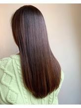 髪質改善カラー.30