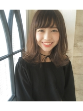 【invitation】イルミナカラー☆外ハネ巻きマッシュボブ 2017,ボブ.35