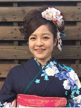 成人式カールアップ前撮り☆和装!振袖 !水戸大工町
