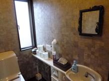 トイレはフロアとは別空間になっております