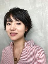 恵比寿Grege【濱田】大人かわいい黒髪ショート.35