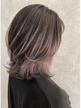 【iIIL hair lounge】レイヤーバレイヤージュ オルチャン 高崎