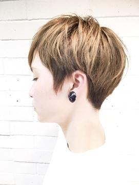 前髪 イヤリングカラー イメチェン ラベンダーカラー 3