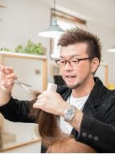 毛先の質感までコントロールする、高度で丁寧なカット技術。毎日のお手入れが、今よりもっと楽になる♪