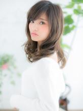 +dumbo与野+ 斜めバング☆ミルクティーカラーが大人かわいいb-3.43