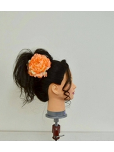 盛り髪アレンジ 盛り髪.11