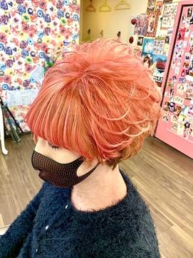 鮮やかな髪に!UPs伝家の宝刀『★スジ盛り★』盛りは芸術です!