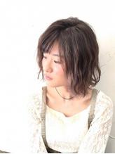 【Reir下北沢】+フェザーボブ+ラベンダーモーヴ+.31