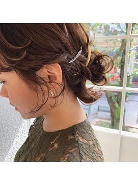 結婚式hair set