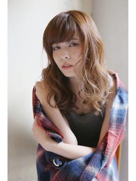 【LOJE】洗練された  大人のセミディウェーブStyle☆